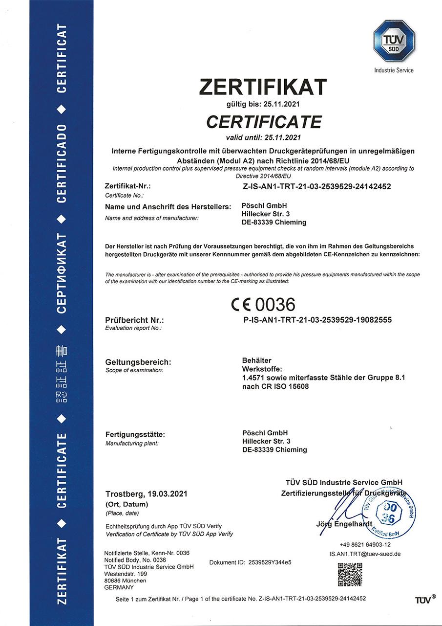 poeschl_anlagenbau_Zertifikat-Modul-A2_2021